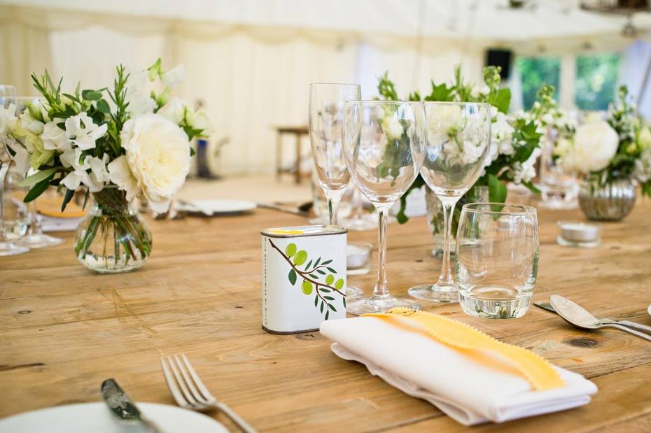 beautiful wedding table decor