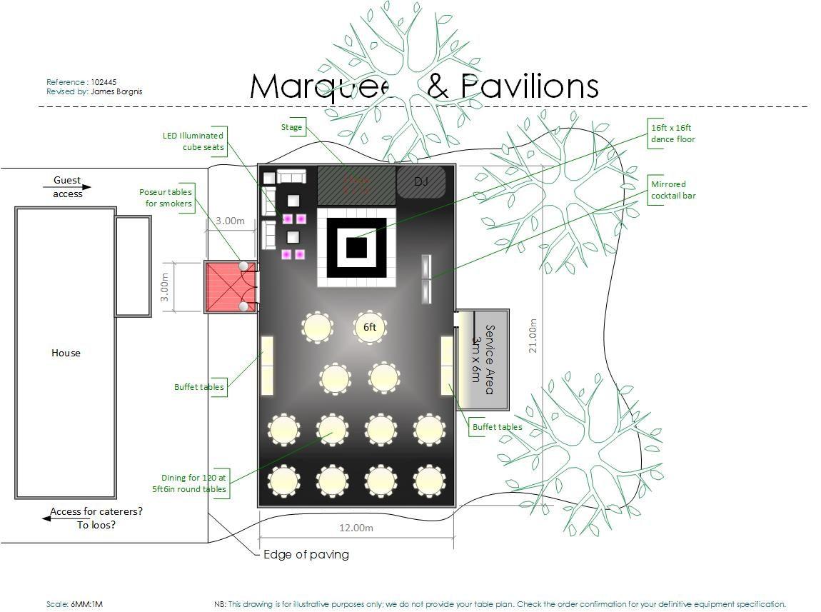 marquee floor plan