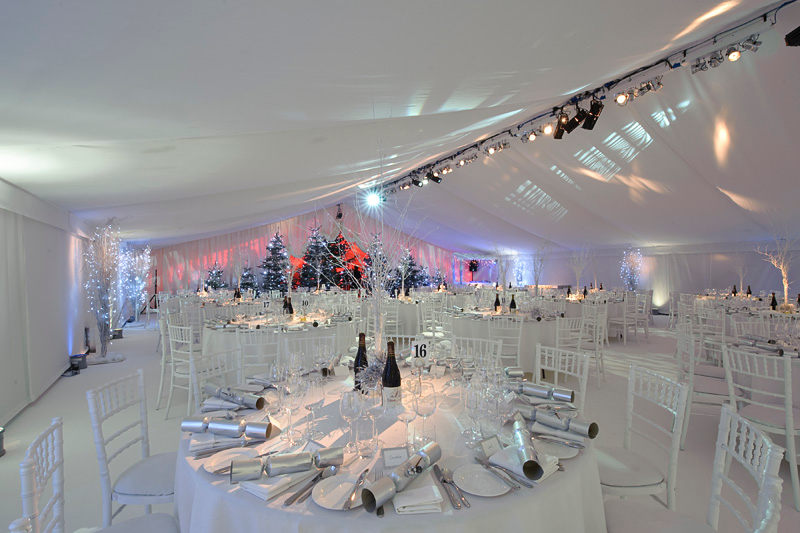 Winter Wonderland Christmas Theme.Winter Wonderland Themed Christmas Party Marquees And