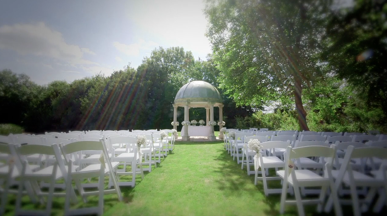 Stunning wedding ceremony venue