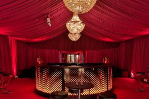 Bespoke party marquees for hire with unique styling for every event