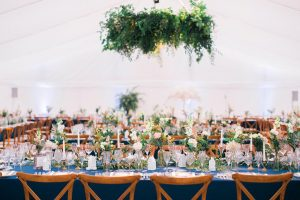 vintage style luxury marquee wedding
