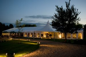 Luxury marquee hire for outdoor weddings, events and parties
